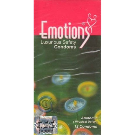 کاندوم ایموشنس آناتومیک Emotions-ANATOMIC-PHYSICAL DELAY