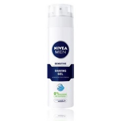 ژل اصلاح پوست حساس سنسيتيو 200 میل نیوآ - Nivea Sensitive Rasiergel